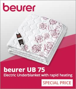 beurer UB 75 Electric Underblanket
