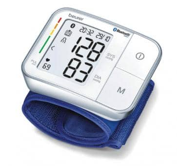 Return beurer BC 57 Bluetooth Wrist Blood Pressure Monitor