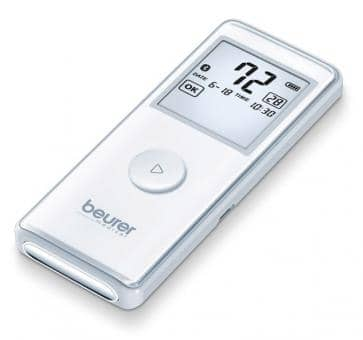 Return beurer ME 90 Mobile Bluetooth ECG Device
