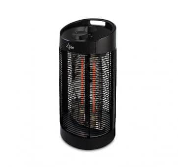 Suntec Heat Ray Carbon Tower 1200 OSC Calentador y ventilador de carbono