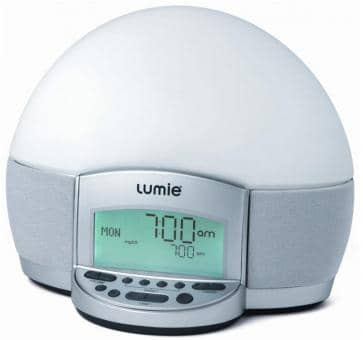 Lumie BodyClock ELITE 300 Light Alarm Clock with Radio and MP3