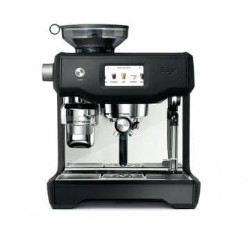 Sage the Oracle Touch Maquina de espresso negro mate