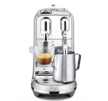 Sage The Creatista Plus Nespresso Machine Aluminio Cepillado