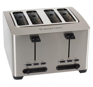 Suntec TOA-8083 V2A Stainless Steel Toaster